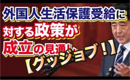 【動画】外国人生活保護受給に対する政策が成立の見通しw [嫌韓ちゃんねる ~日本の未来のために~ 記事No15576