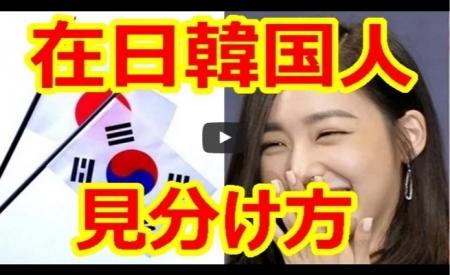 【動画】在日韓国人の見分け方まとめ!性格 朝鮮耳 苗字 顔・・・あなたの周りも実は危険? [嫌韓ちゃんねる ~日本の未来のために~ 記事No15663