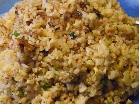 しらすひき肉炒飯 (3)