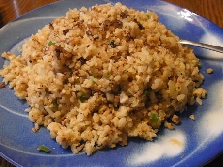 しらすひき肉炒飯 (2)
