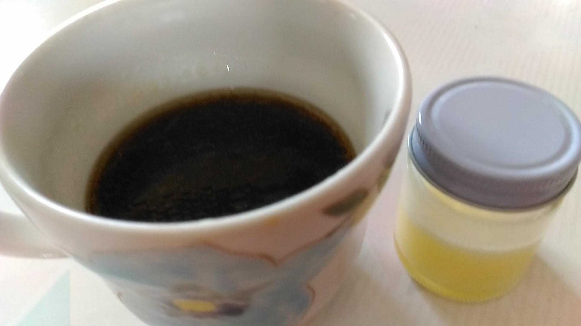 20170423 ギー入りコーヒー2