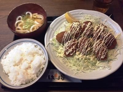 161222けいま家カキフライ定食920円