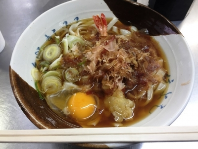 170114住よしJR名古屋駅3・4番ホーム店ワンコインきしめん500円