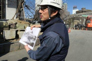 常磐橋御門の古写真