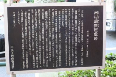 河村瑞賢屋敷跡
