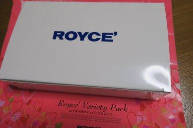 ROYCE'の箱