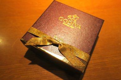 GODIVAの箱