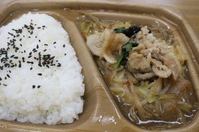 肉野菜炒め弁当@498円