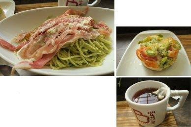 B-Cafe・ランチ内訳