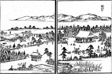 国分寺(図会挿絵)