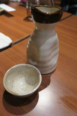 ルーチンの日本酒1合