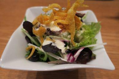 彩り豆とスモーク鴨のサラダ