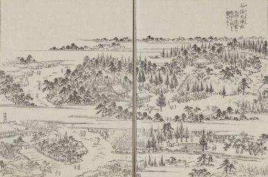 谷保天神社(図会)