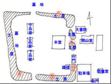 九品仏境内図