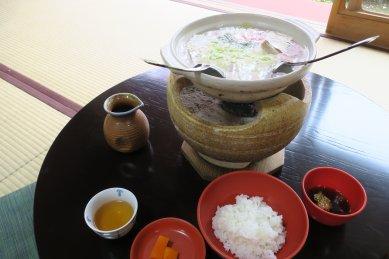 七草湯豆腐単品+ご飯