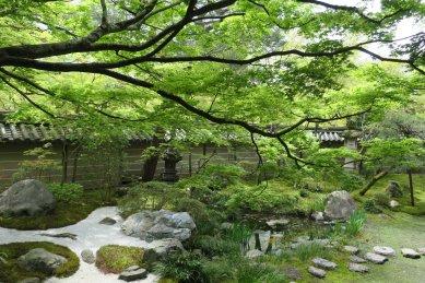 永観寺・方丈西庭