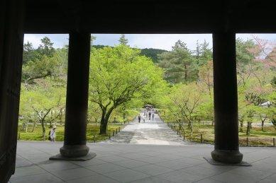 南禅寺・三門からの眺め
