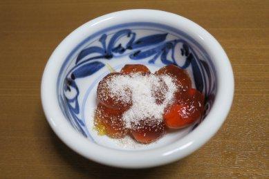 コーラわらび餅in砥部焼小鉢