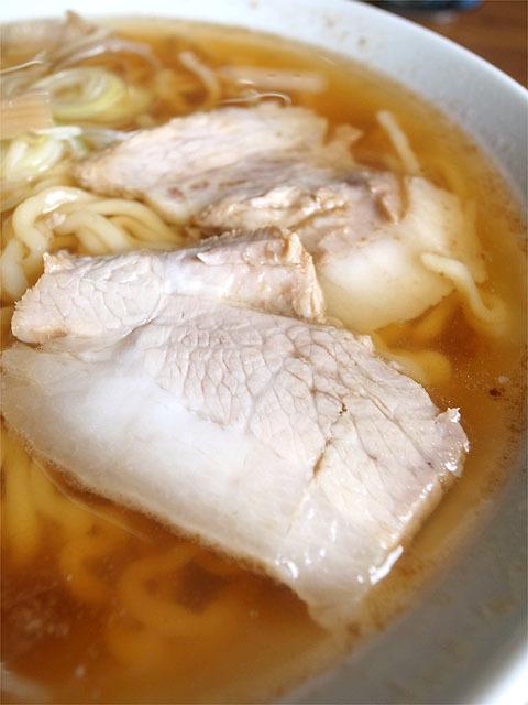 160501三角屋-中華そば・肉