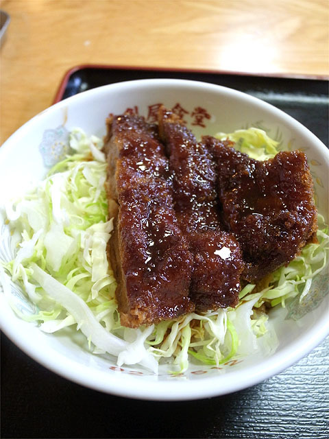 160501牛乳屋食堂-半カツ丼