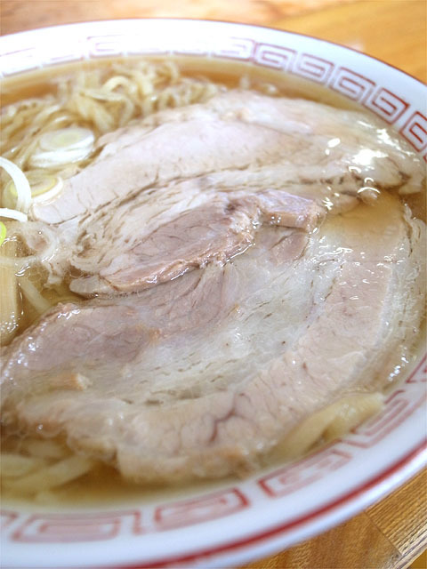160502中華そば 琴の-中華そば・肉