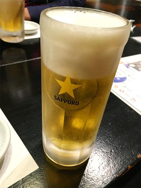 160503くりぼうず-生ビール