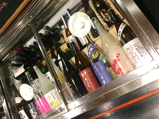 160503くりぼうず-日本酒セラー
