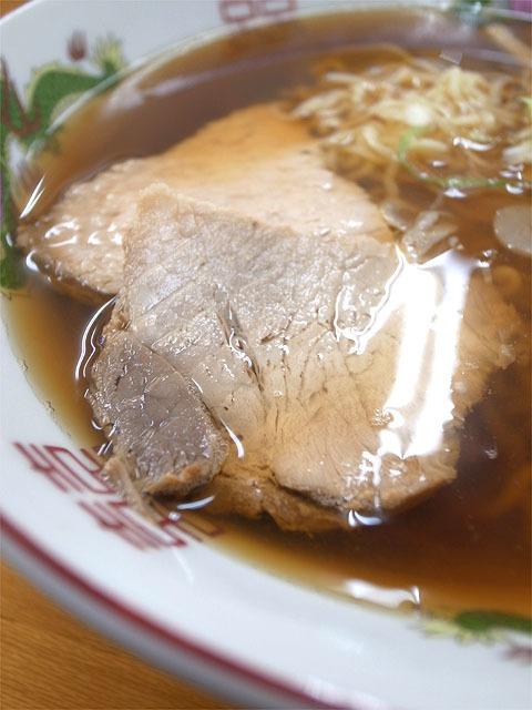 160504くどうラーメン-ラーメン 中・肉