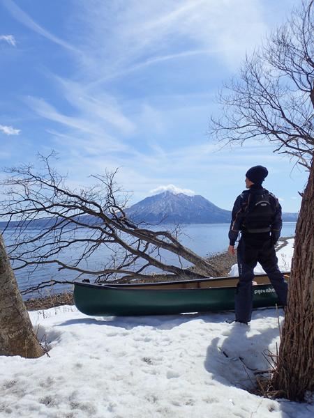 支笏湖残雪03