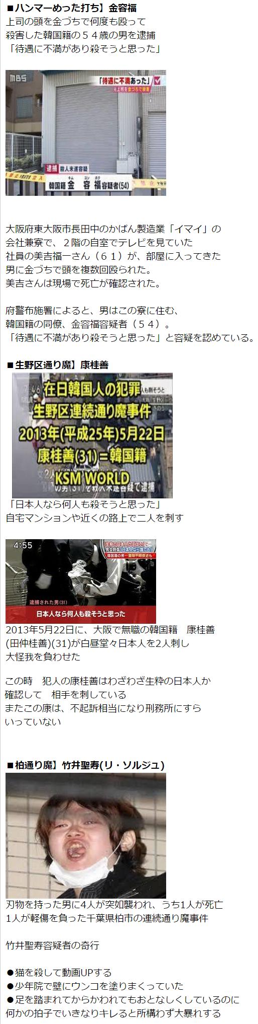 在日朝鮮人の犯罪2