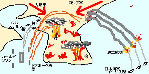 恨島に群がる大国