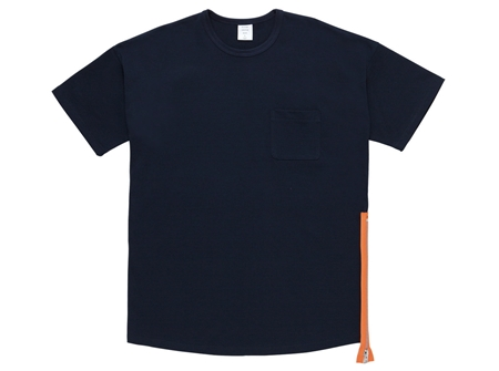 MGK-CS17 SIDE ZIP MODERN TEE NAVY_R
