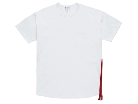 MGK-CS17 SIDE ZIP MODERN TEE WHITE RED_R