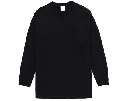 MG-LCS01 LONG POCKET TEE BLACK_R