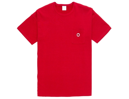 MGK-CS15 EYELET POCKET MODERN TEE RED_R
