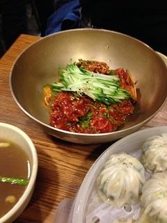 餃子・冷麺