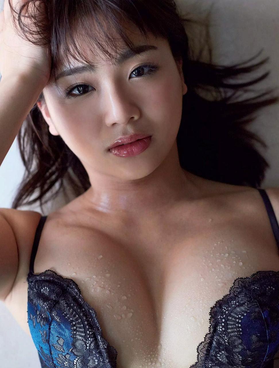 「週刊FLASH(フラッシュ) 2017年2月14日号」平嶋夏海の下着グラビア