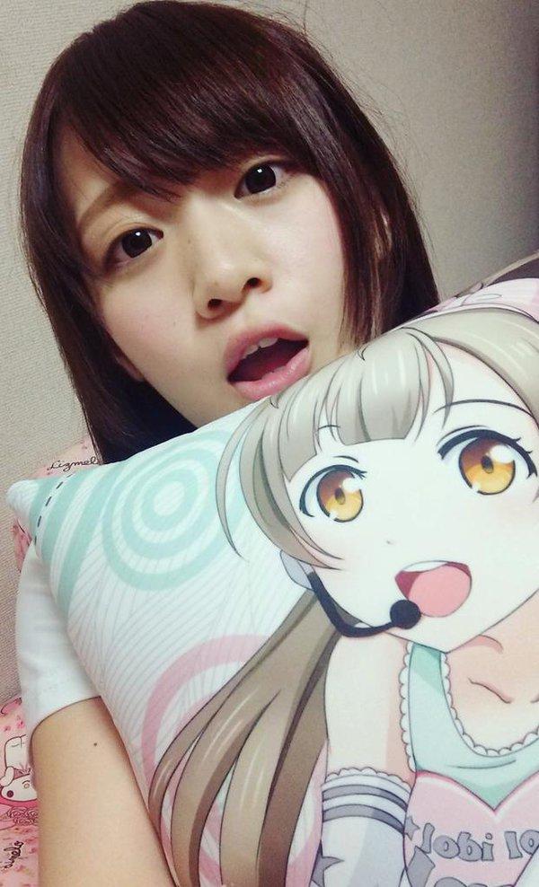 AV女優・保坂えりの自撮り画像