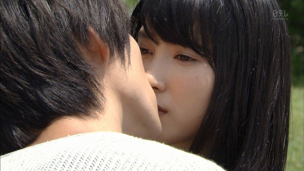 ドラマ「お迎えデス。」、福士蒼汰と土屋太鳳のキスシーン