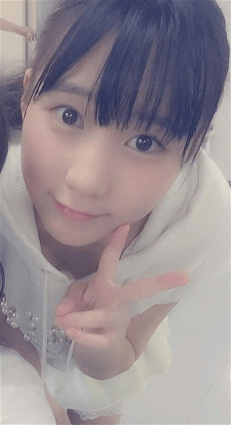 HKT48・田中美久の自撮り画像