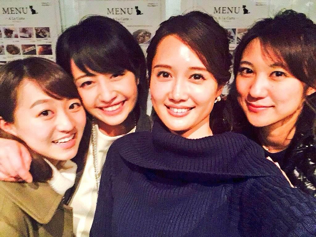 相内優香、大澤亜季子らトレたま4人娘の自撮り画像