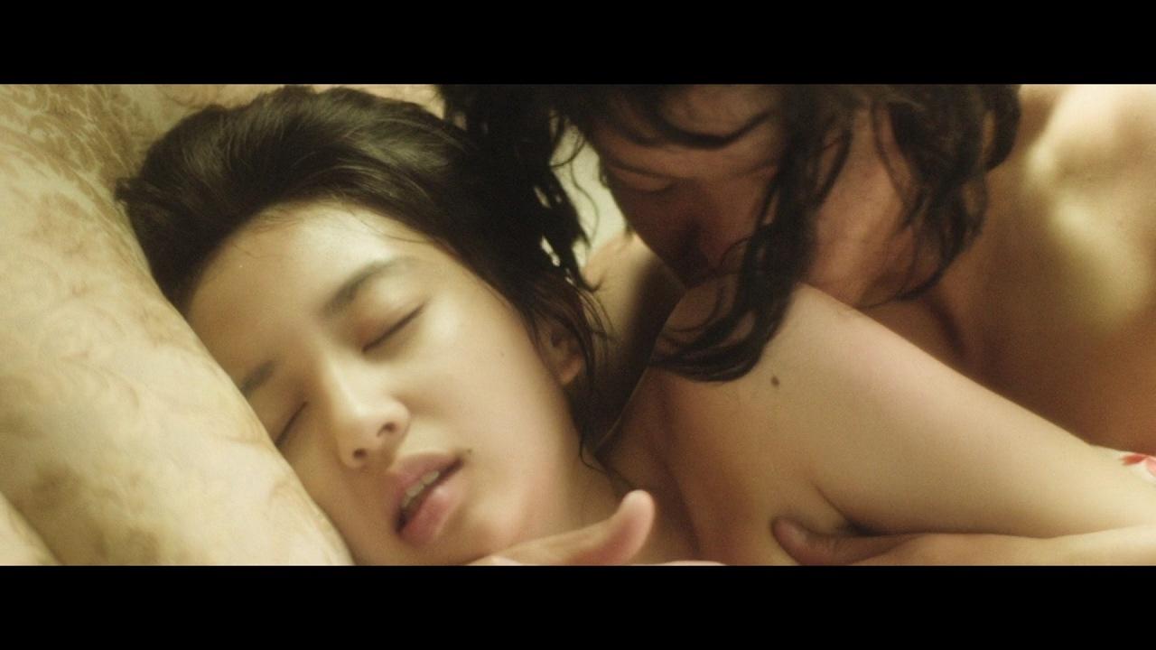 映画「夢二 愛のとばしり」の小宮有紗の濡れ場