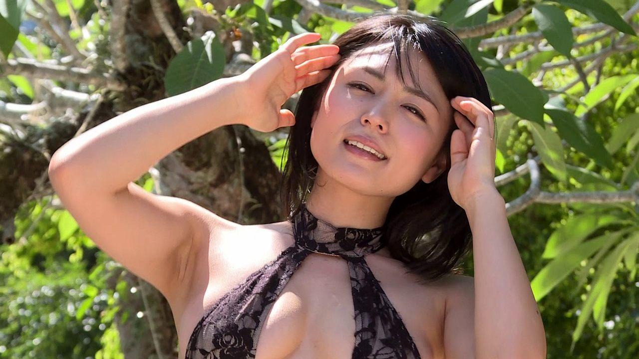 川村ゆきえのイメージビデオキャプチャ画像(変態水着を着た川村ゆきえ)