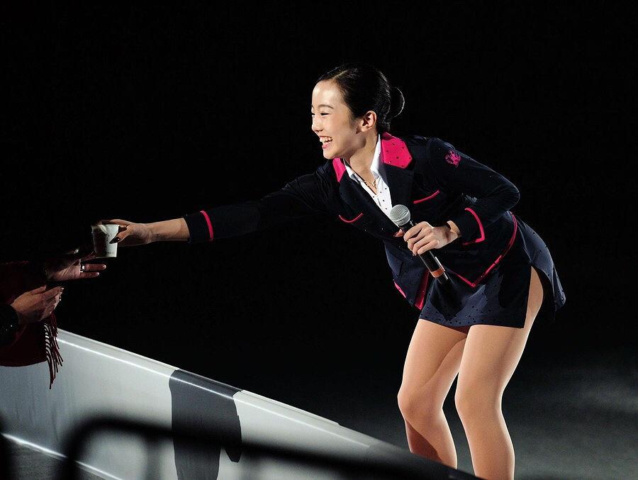 フィギュアスケートの本田真凜