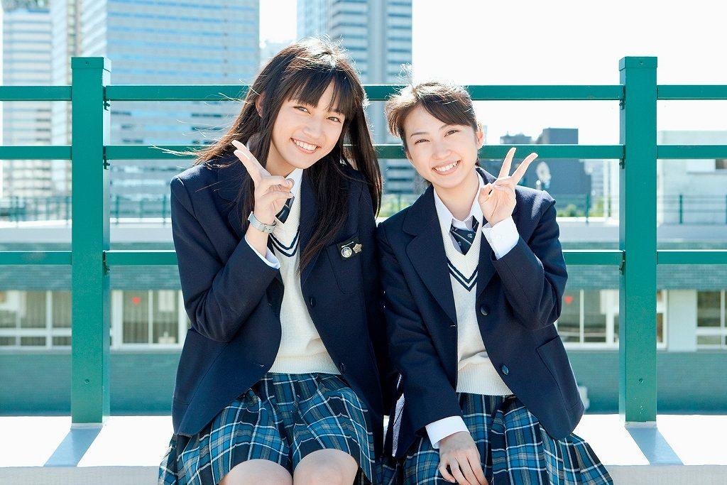 川口春奈と志田未来のツーショット