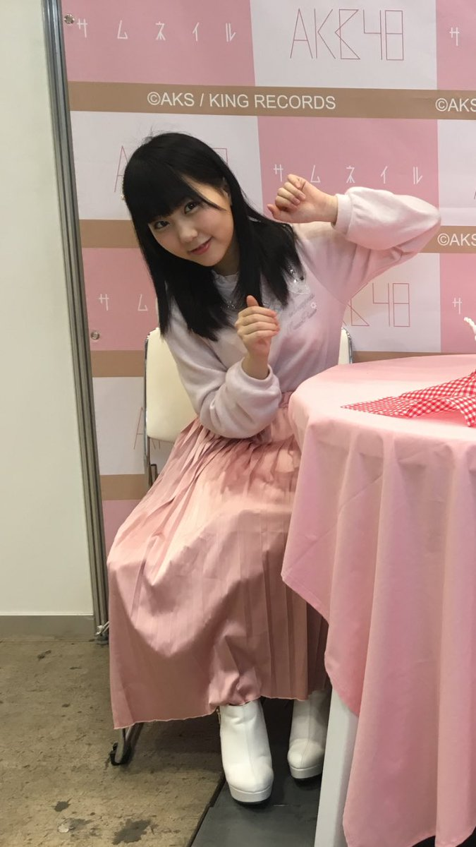 写メ会で撮られたHKT48・田中美久の着衣巨乳