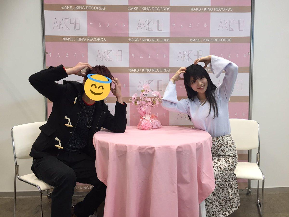 写メ会で撮られたHKT48・田中優香の着衣巨乳
