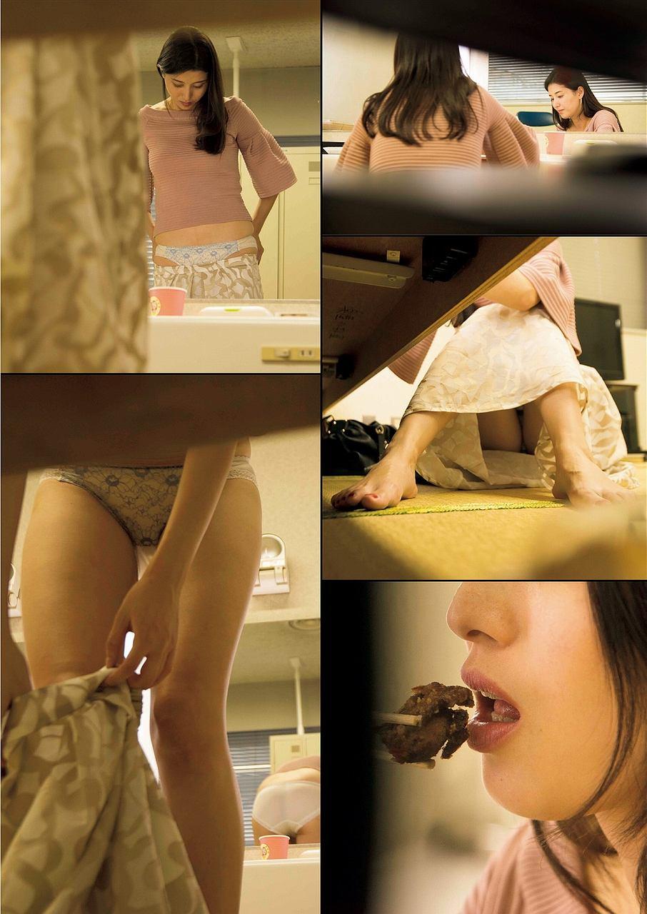 「フライデー」袋とじ、橋本マナミの入浴ヌード写真流出グラビア