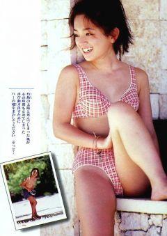 浜崎あゆみの水着グラビア