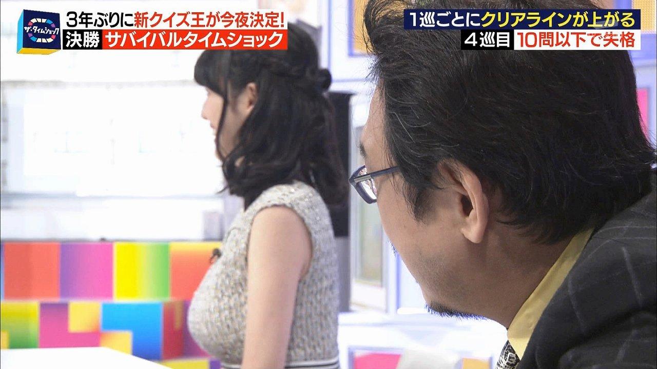 三浦奈保子の着衣巨乳